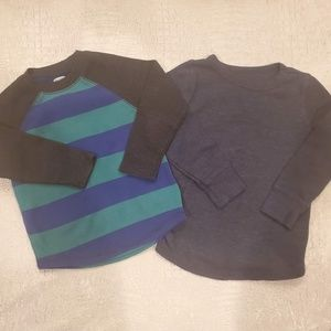 4for$20!! 2-pack thermal t-shirts size 2T
